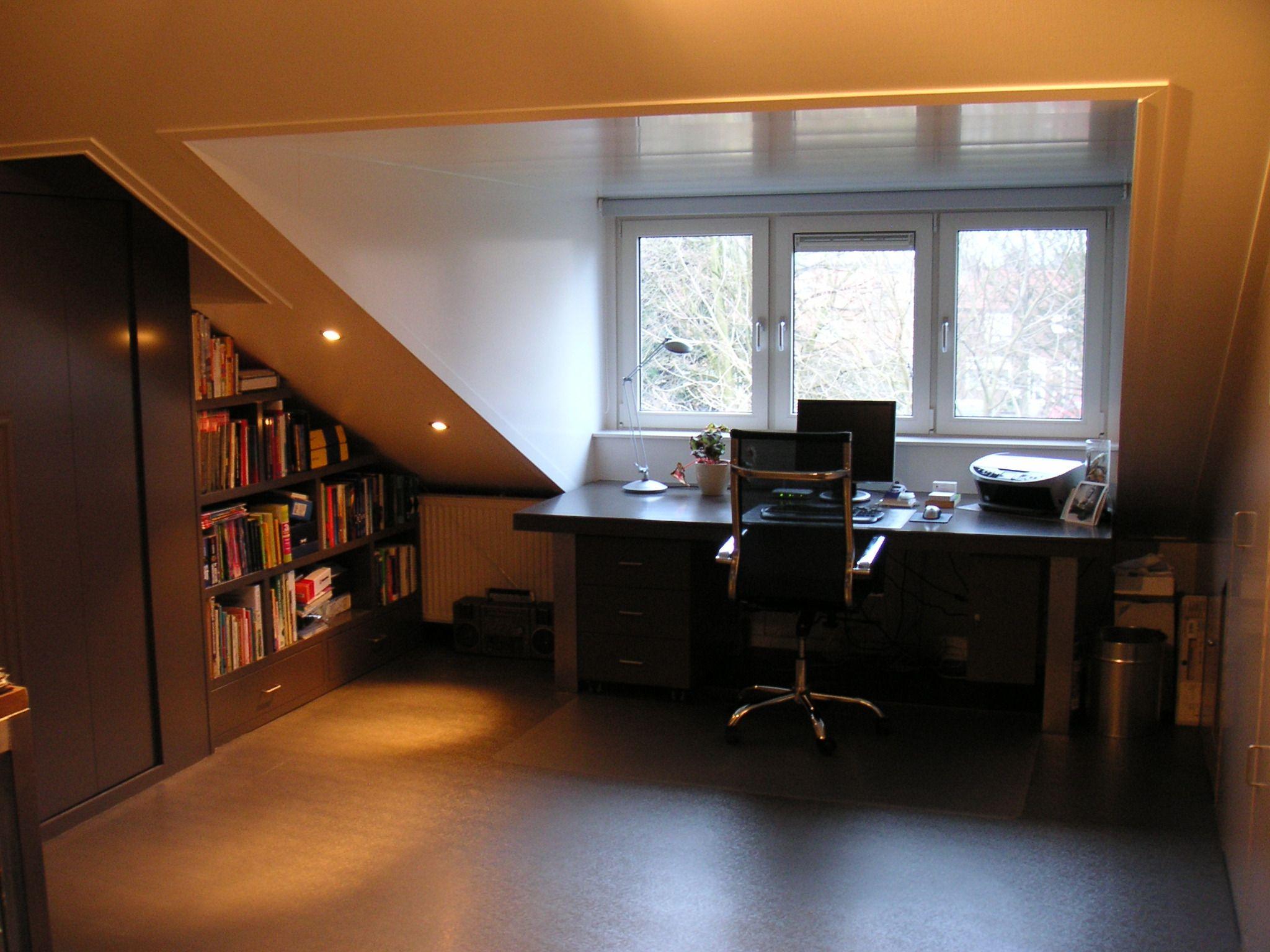 Fantastisc Inbouwspotjes Badkamer : Afwerking binnen van een dakkapel en plafons met inbouwspotjes
