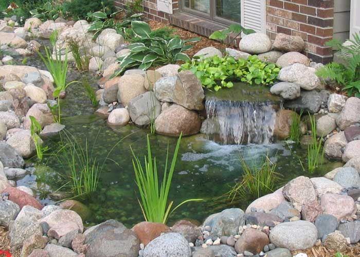 estanque jardin - Buscar con Google