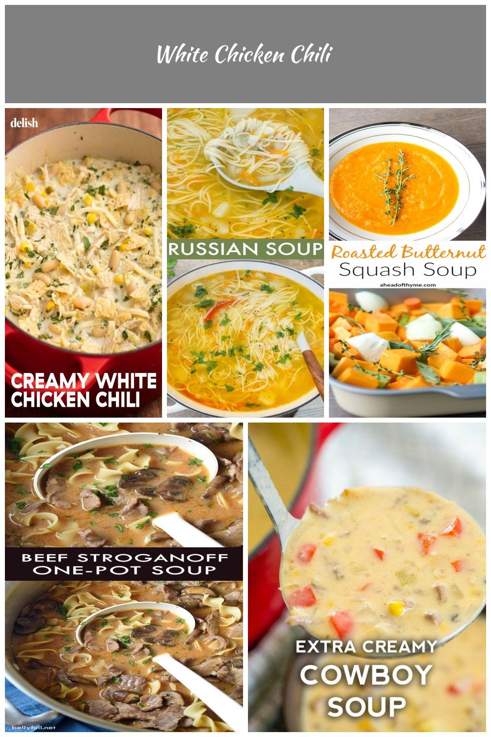People Are Raving About This White Chicken Chili Get The Recipe At Delish Com Recipe Easy Ea White Chicken Chili Butternut Soup Creamy White Chicken Chili