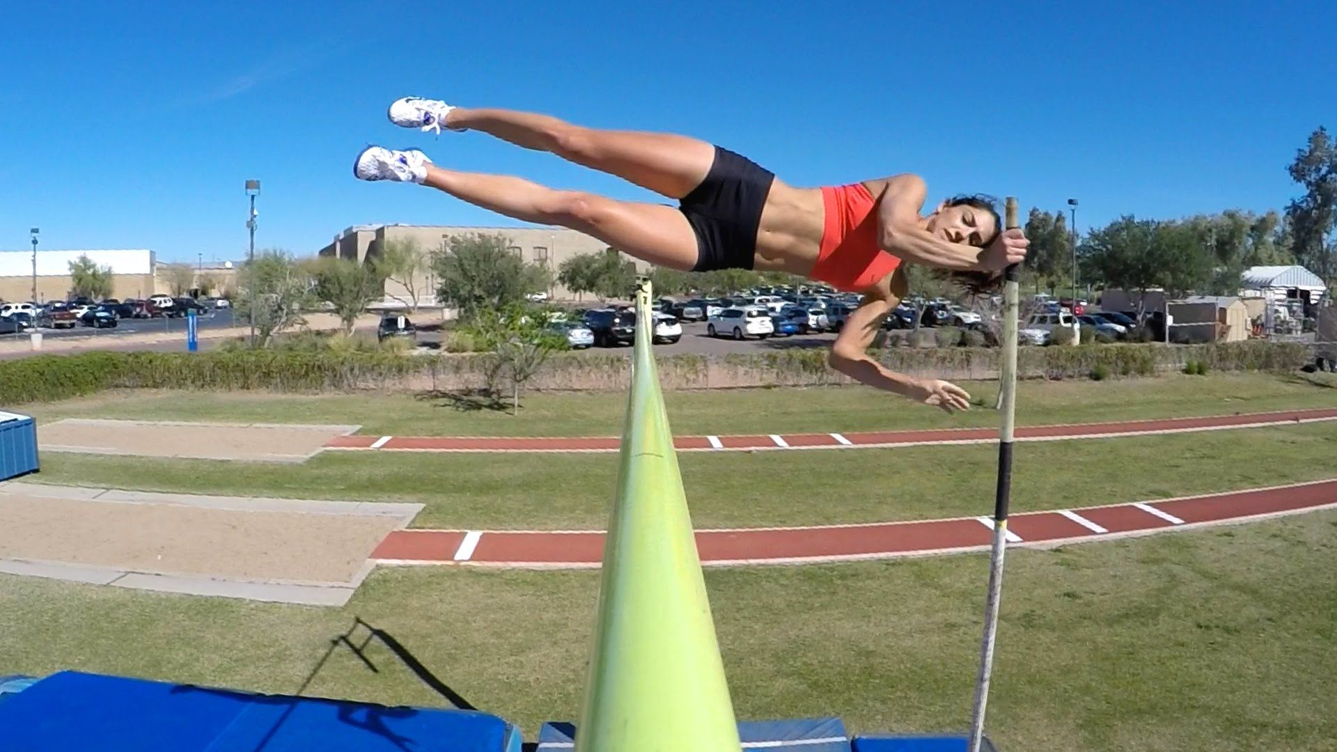Gopro Two Roads With Allison Stokke Ep 1 Pole Vault With Images Pole Vault Stokke Track And Field