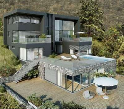 Modern Marilyn Monroe Mansions This Geometrix B Dmitrovka Home Is A 1950s Hollywood Heaven Gallery Expensive Houses Modern House Design Billion Dollar Homes