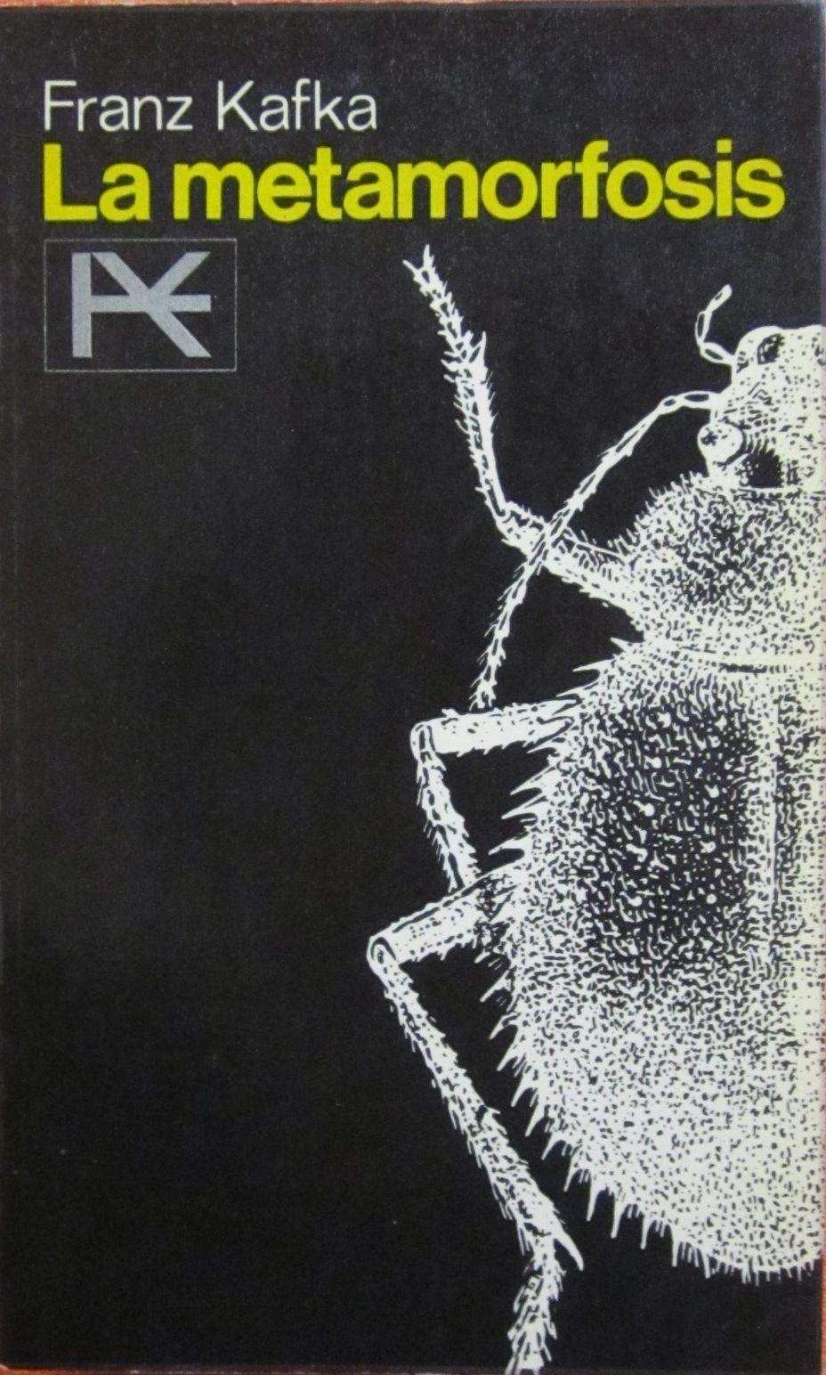 Resultado de imagen para portada libro la metamorfosis