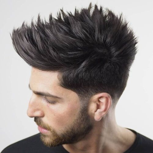 Spiky Hairstyles Spiky Hairstyles For Men 2018  Hair Style Haircuts And Hair Cuts