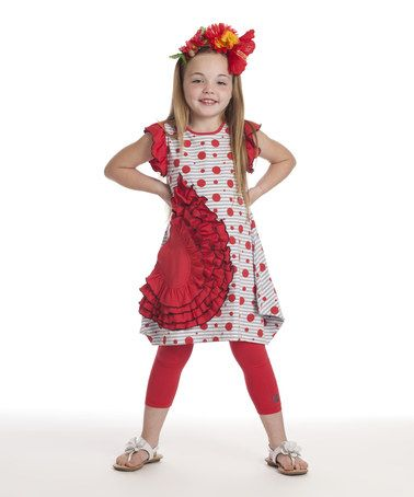 Another great find on #zulily! Poppy Joanne Dress - Toddler & Girls by KidCuteTure #zulilyfinds