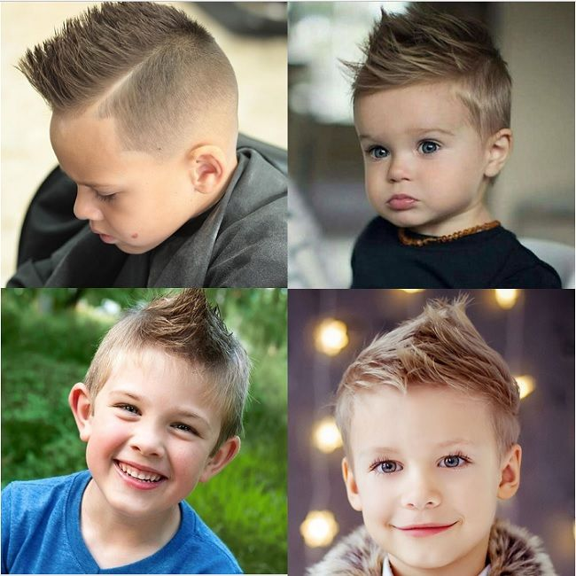 25 Charming Haircuts for Baby Boys to Show Off – C