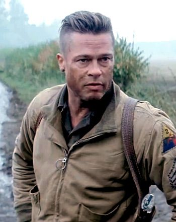 Watch The First Trailer For Fury Starring Brad Pitt Brad Brad