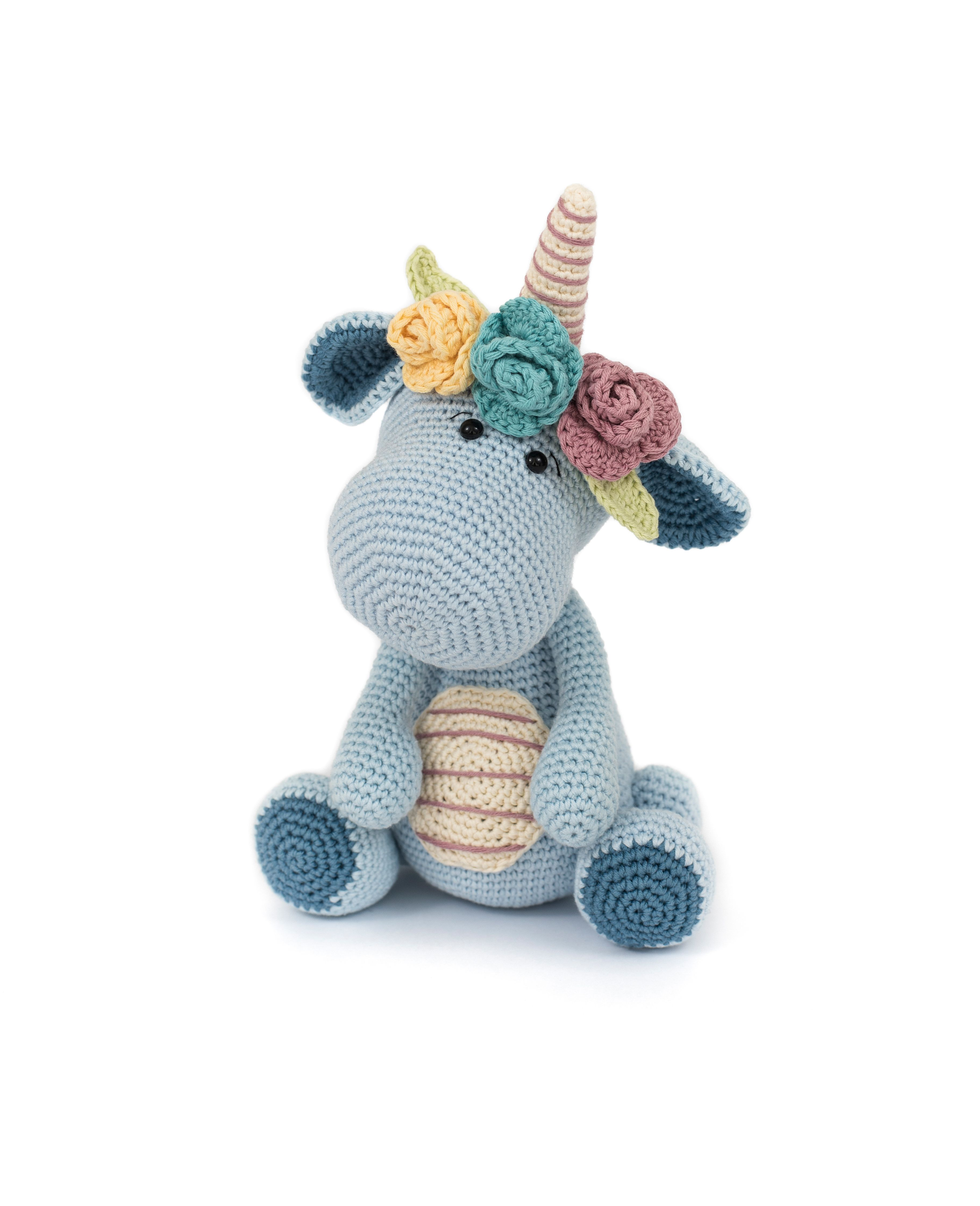 Bobby the Dinocorn by LittleAquaGirl - crochet pattern in the book ...