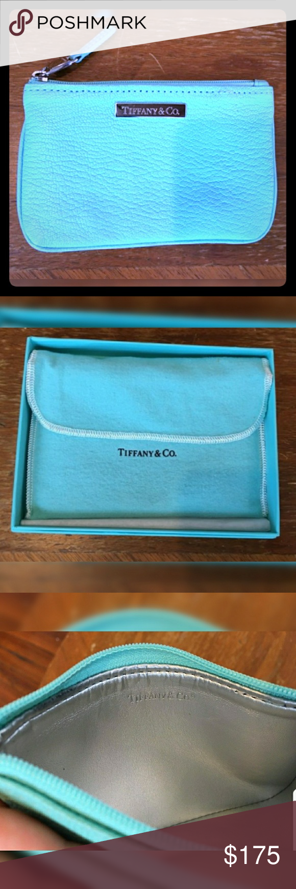 Tiffany Co Retired Leather Coin Purse