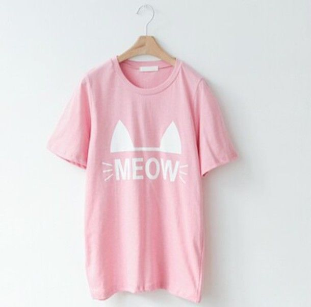 p9xgh6-l-610x610-shirt-cats-pastel-pastel pink-meow-oversized t  ...