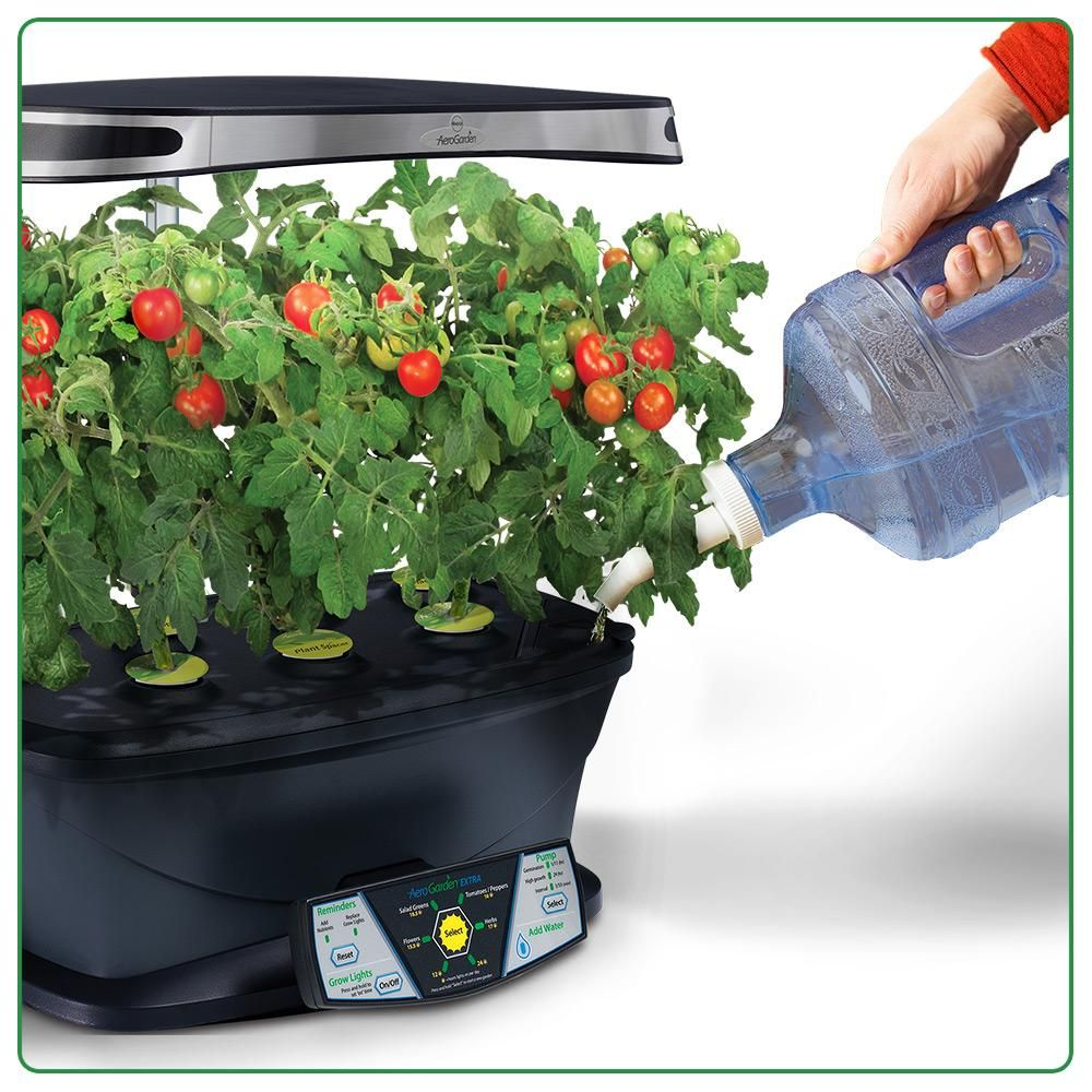 Amazon Com Aerogarden Extra Led With Gourmet Herb Seed 400 x 300
