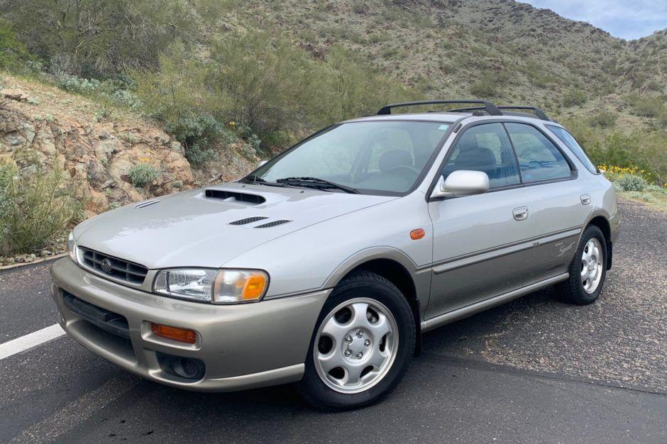 No Reserve 2000 Subaru Impreza Outback Sport 5Speed in