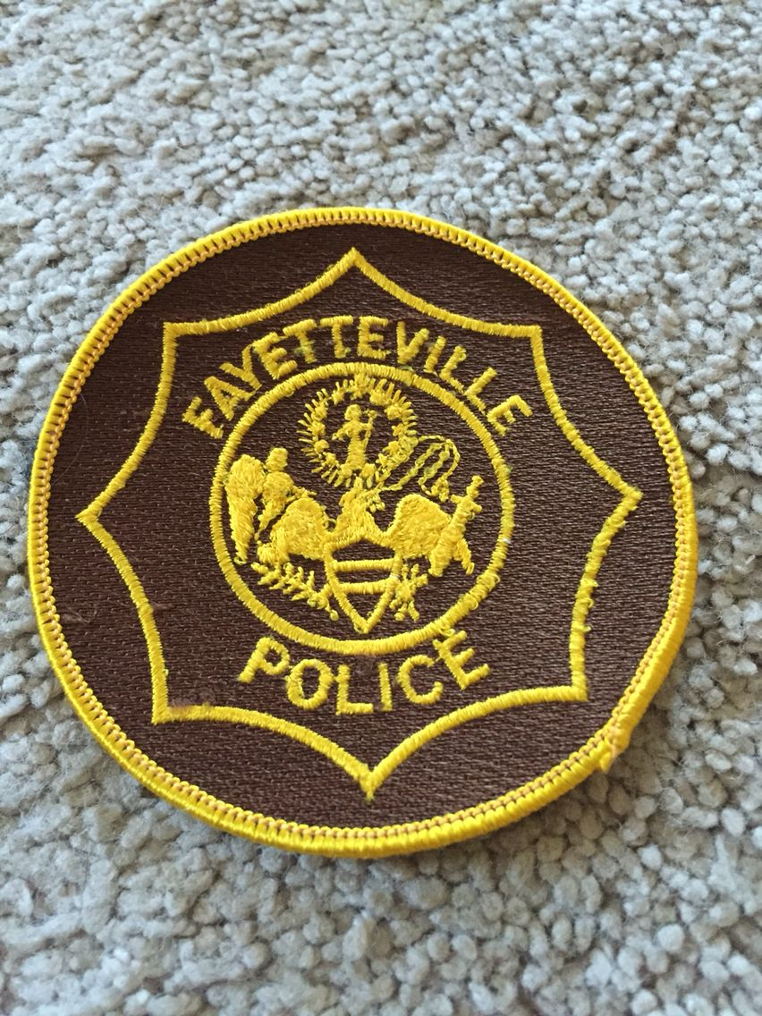 Fayetteville PD Police patches