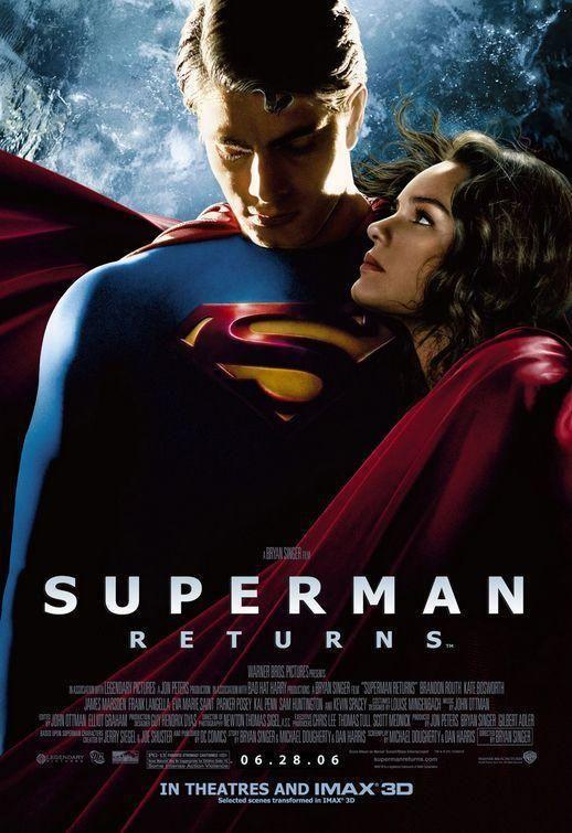 Superman Returns Movie Poster - Movie Fanatic