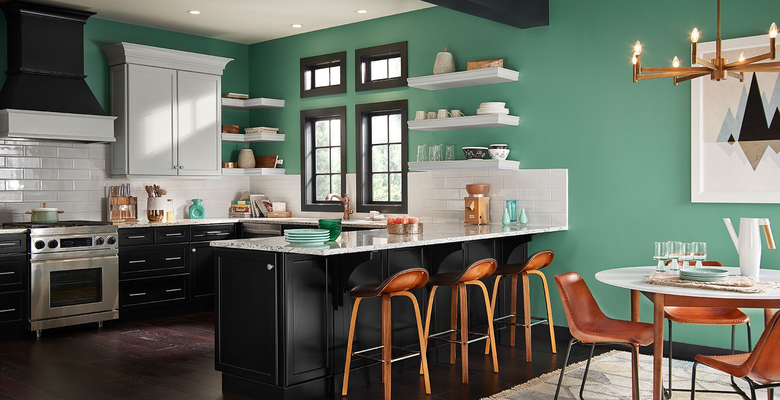 Bold Kitchen Wall Colors Ideas And Inspiration Behr European Home Decor Popular Kitchen Colors Home Decor Bold kitchen paint colors