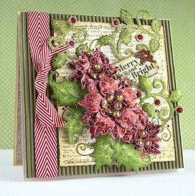 Heartfelt Sparkling Poinsettia Release