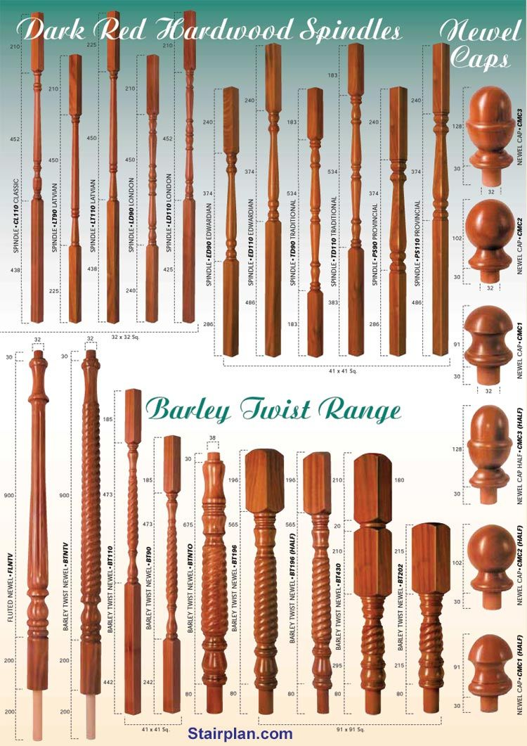 Stair Spindle Styles Handrail Design Stair Spindles Wooden Stairs