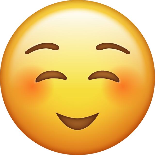 Shy Emoji Icon Png 640 640 Pixels Emoji De Beso Emojis De Iphone Imagenes De Emojis