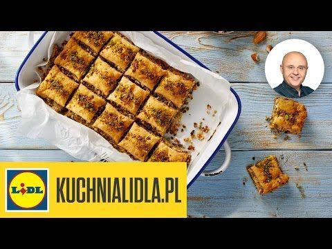 Baklava Grecka Pawel Malecki Przepisy Kuchni Lidla Youtube Food Breakfast Waffles