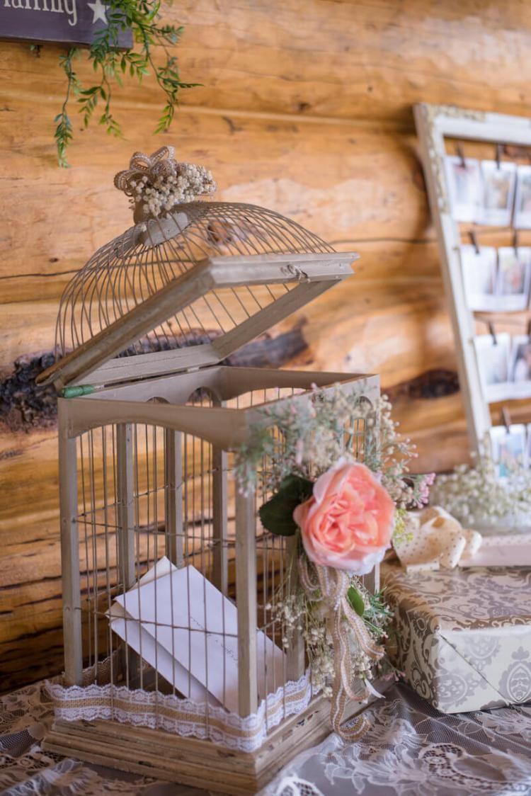 Rustic Romantic Outdoor Wedding Rustic Card Box Wedding Card