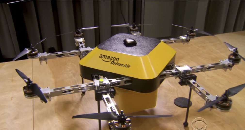 Amazon Prime Air Drone | Delivery drones are coming: Jeff Bezos previews half-hour shipping from Amazon