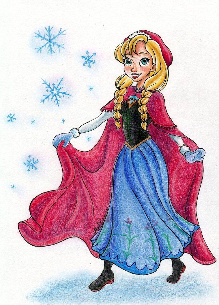 Love this Princess Anna piece.