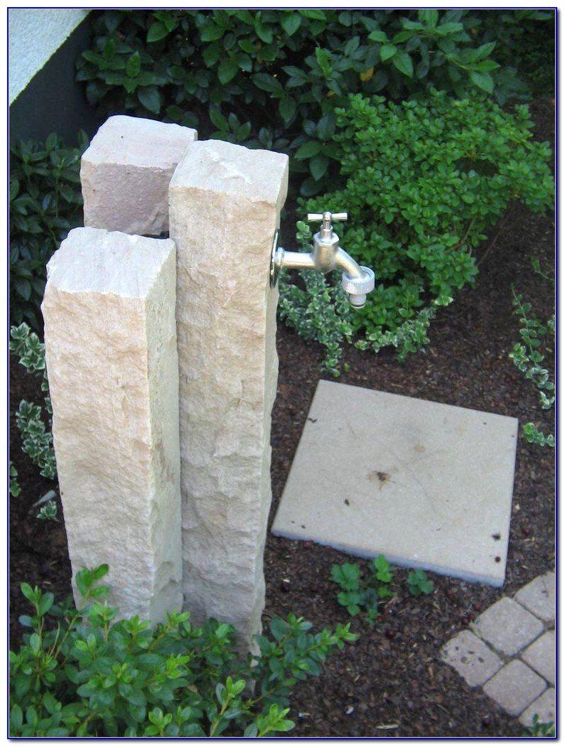 Wasserhahn Säule Garten Selber Bauen Für Jeden Geschmack Von