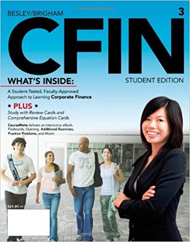 Test bank for cfin 3 3rd edition by besley finance pinterest banks fandeluxe Images