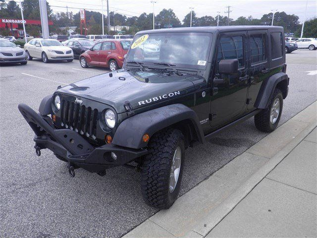 2012 Jeep Wrangler Unlimited Rubicon 4DR 4X4 ... CONTACT LAFAYETTE FORD: 5202 Raeford Road, Fayetteville, NC 888-591-6778 -- lafayetteford.com