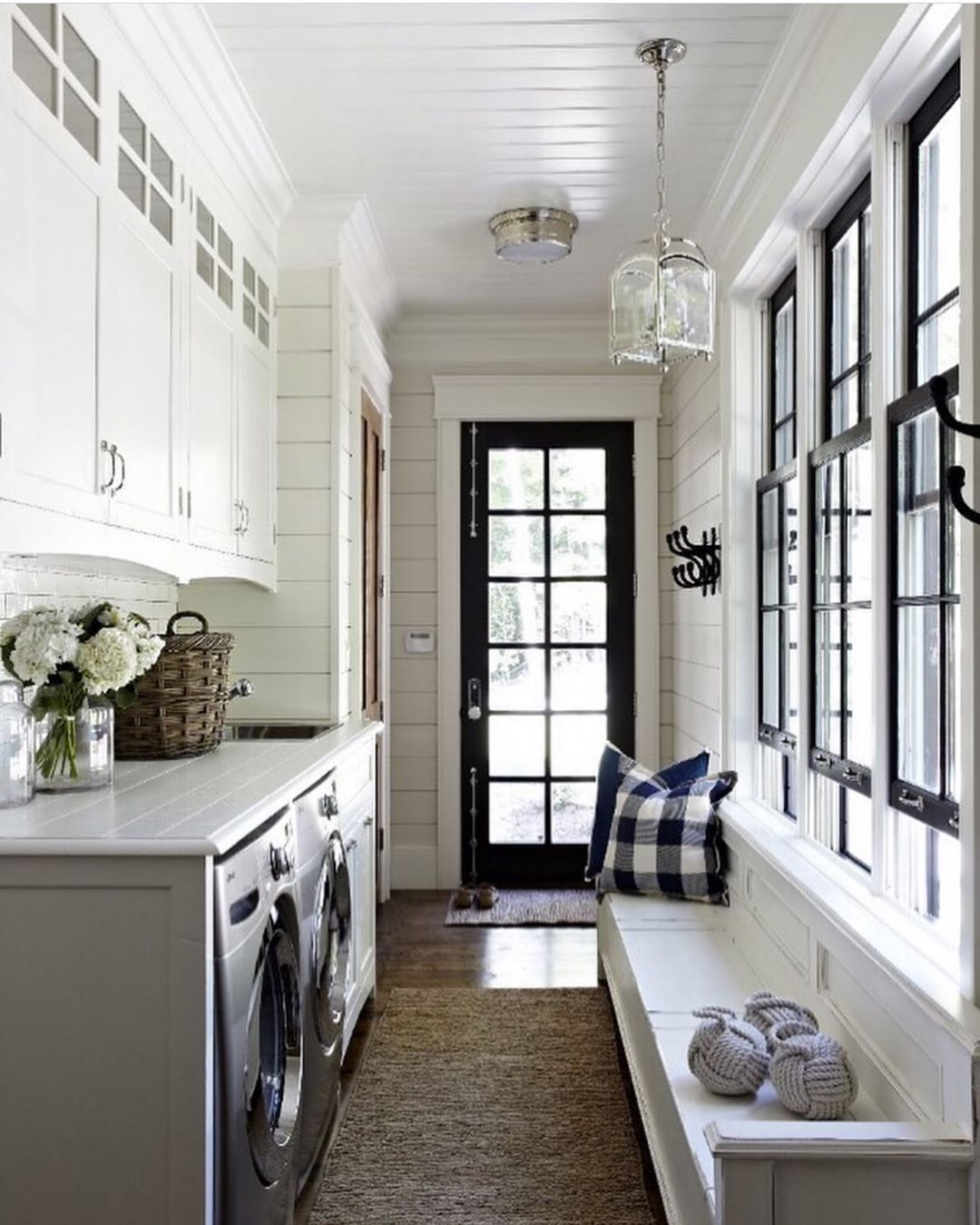 Becki Owens On Instagram One Of My Favorite Laundry Mud Rooms More Mudroom Inspo On White Laundry Rooms Farmhouse Laundry Room Mud Room Laundry Room Combo