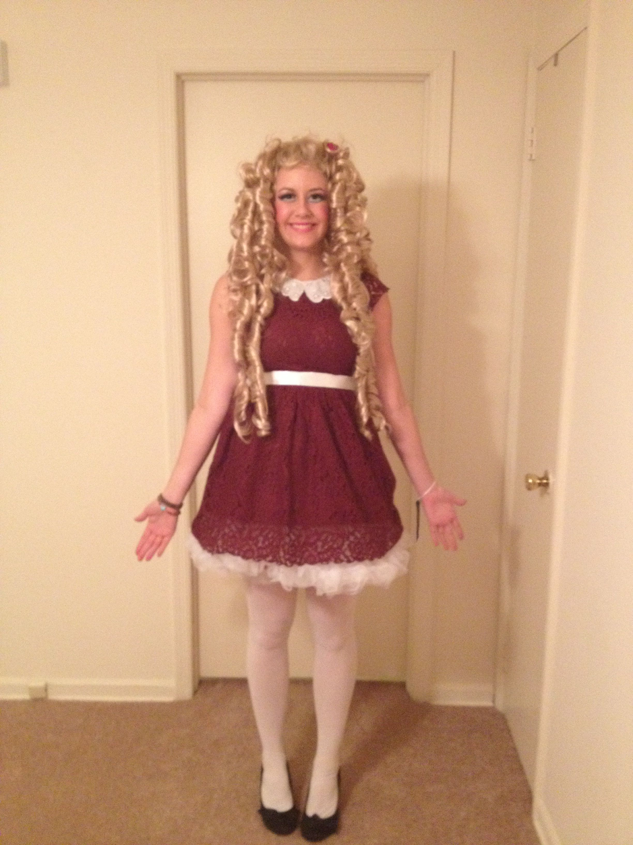 Diy Doll Costume Diy Doll Costume Doll Costume Outfits