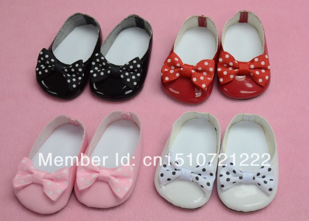 """NEW classic snow white Mary Jane shoe for 18/"""" AMERICAN FASHION GIRL DOLLS $ SALE"""