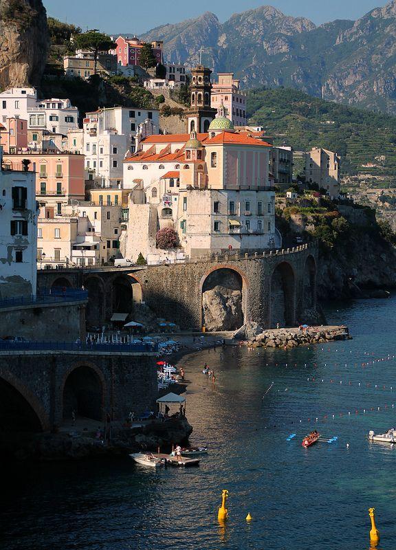Atrani, Campania #campania #landscape #italy #italia #vesuvio #napoli #naples #caserta #salerno #positano #paestum #pompei #avellino #benevento #sorrento #ischia #Tyrrhenian #parthenopean #islands #capri #procida #vivara #nisida #anacapri #amalfi_coast #amalfi #atrani