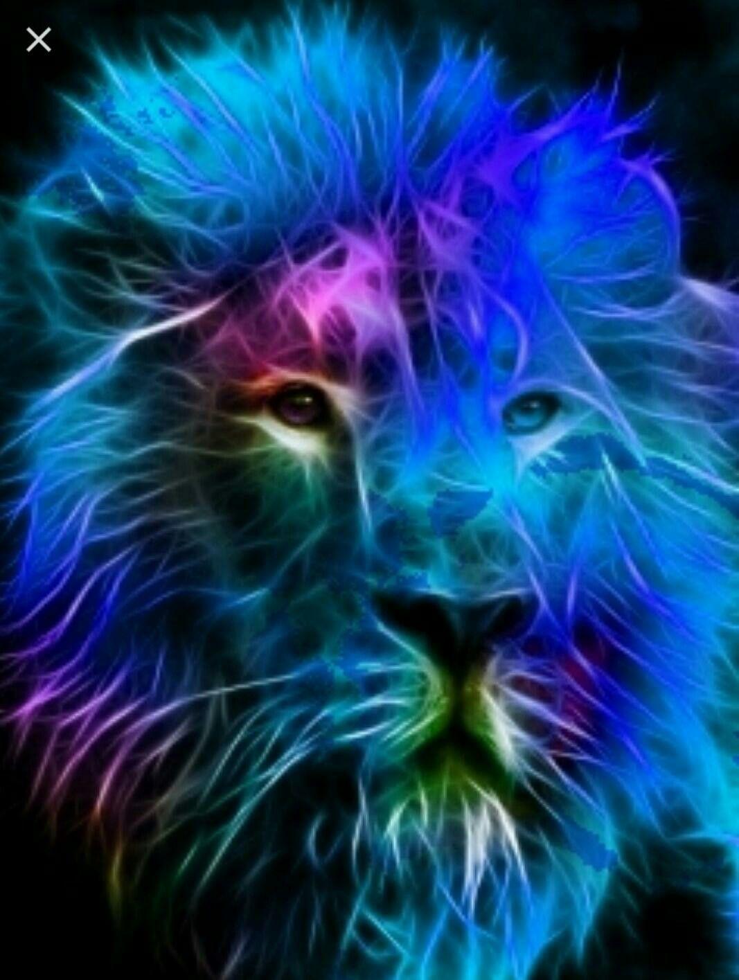 Pin by Exquisite Diamond on Art Lion art, Animals