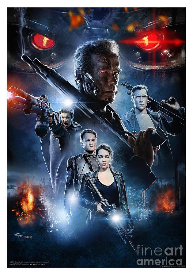 Terminator Fan Art Terminator Terminator Genisys Terminator Movies