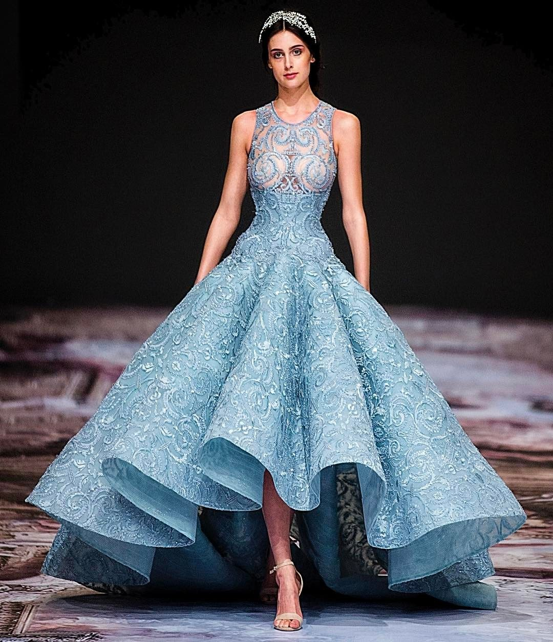 Regal splendour michael cinco 39 s fall 2017 collection at for Wedding dresses in dubai prices