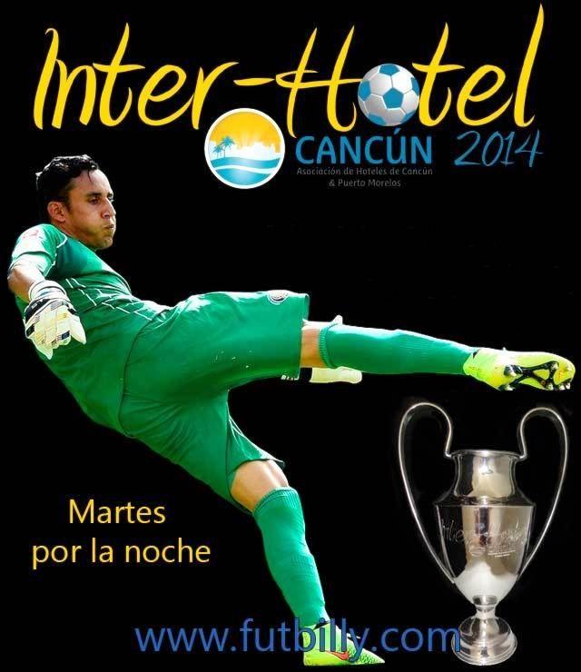 Estamos a 1 semana de comenzar con el Torneo de #Fútbol7 más importante de la hotelería en #Cancún