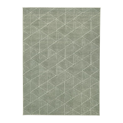 Best Stenlille Rug Low Pile Green 170X240 Cm Rugs On 400 x 300