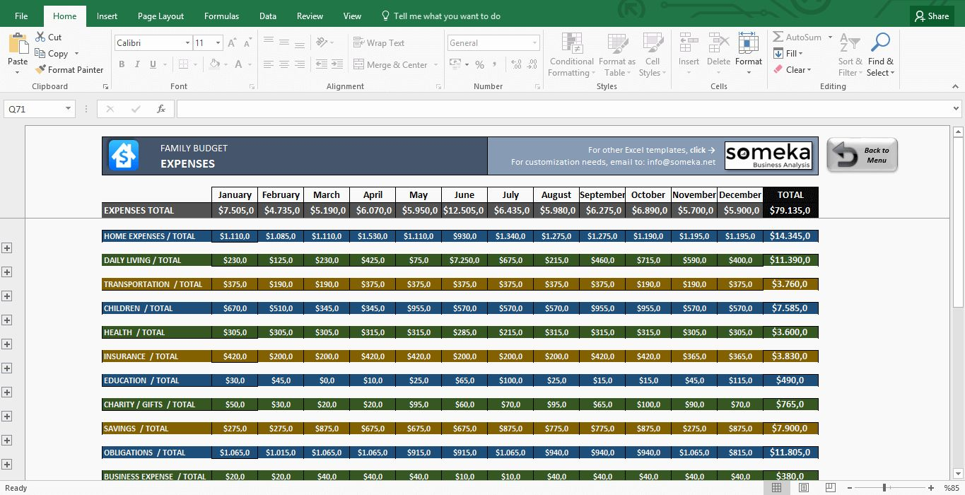 Free Excel Budget Template New Family Bud Template In