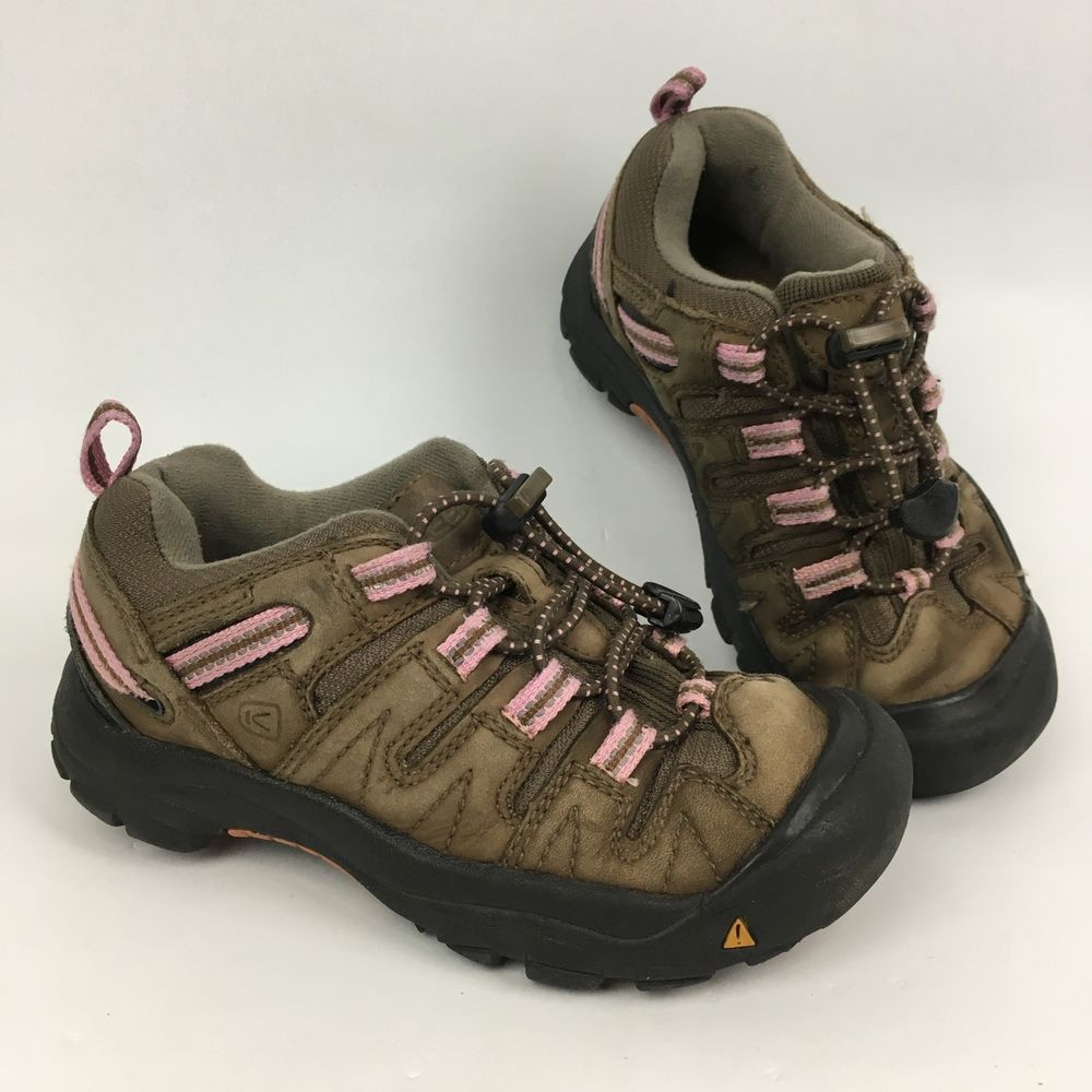 a9bfef17b3e Keen Girls Kids Toddler Size 13 Hiking Sneaker Boots Youth Pink ...