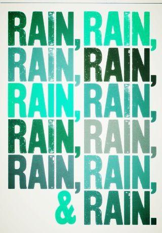 Sick Of Rain Rain Words Rain Humor Rainy Day Quotes