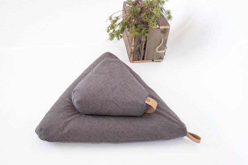 Japanese Zafu Cushion Zabuton for Zen Meditation or Yoga filled with Kapok Japan