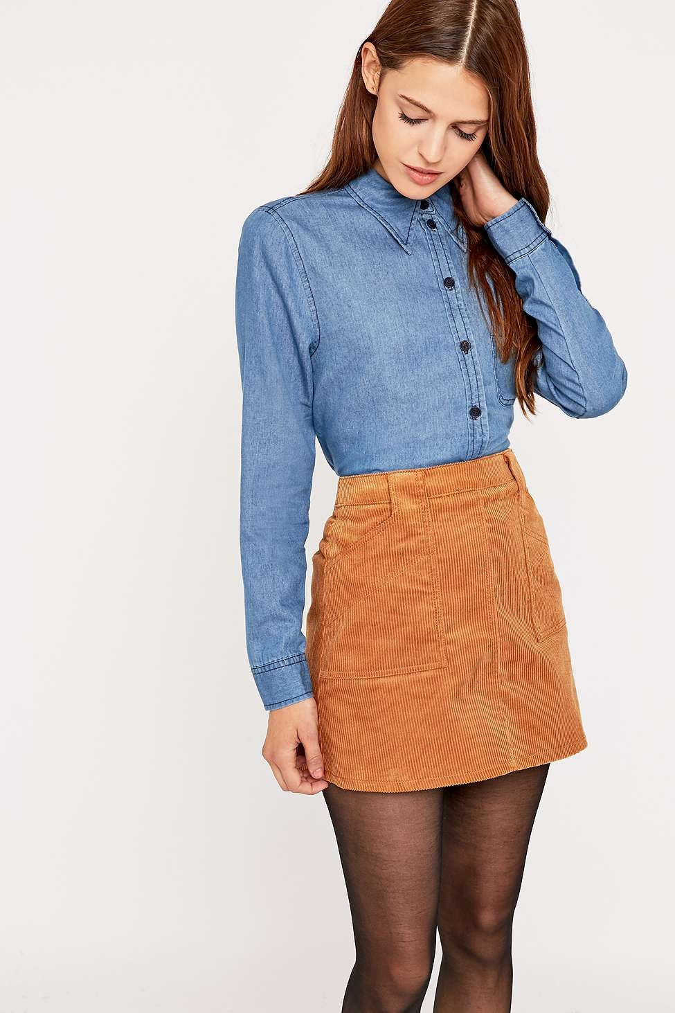 Flannel fashion makeup  s Chambray Shirt  Dresses make up and more  Pinterest
