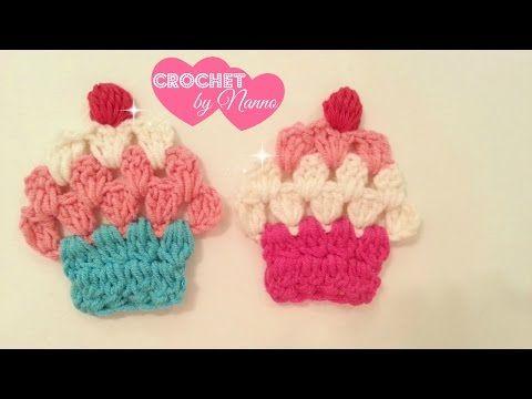 كاب كيك كروشية اطفال لتزيين ملابس الاطفال X2f اشغال يدوية 1 Crochet Cupcake For Girls Dresses Youtube Crochet Crochet Cupcake Yarn Crafts