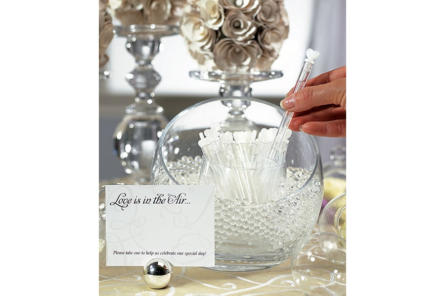 Love Wedding Bubble Favour Wands (24 pack) - from Easy Weddings Australia