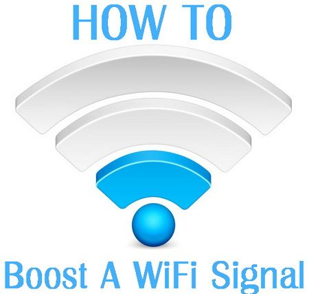 How To Easily Boost And Improve The Internet Wifi Signal Reception In Your Home Or Apartment Wifi Signal Wifi Booster Diy Wifi Gadgets