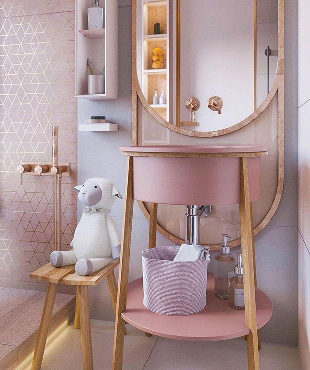 Пин на доске Дизайн детской ванной комнаты