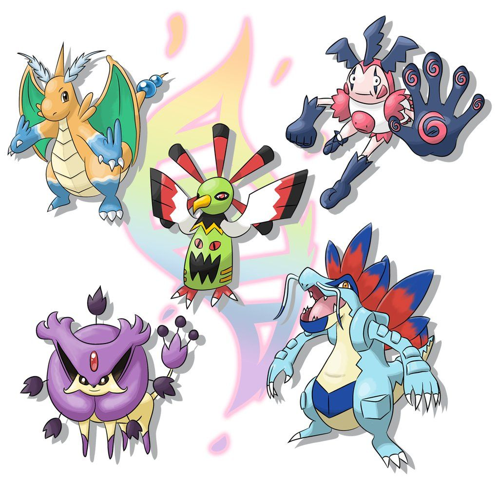 pokemon classification In the games, dragon types are only weak against ice and dragon type moves they are also highly resistant to fire, electric, grass and water type moves.