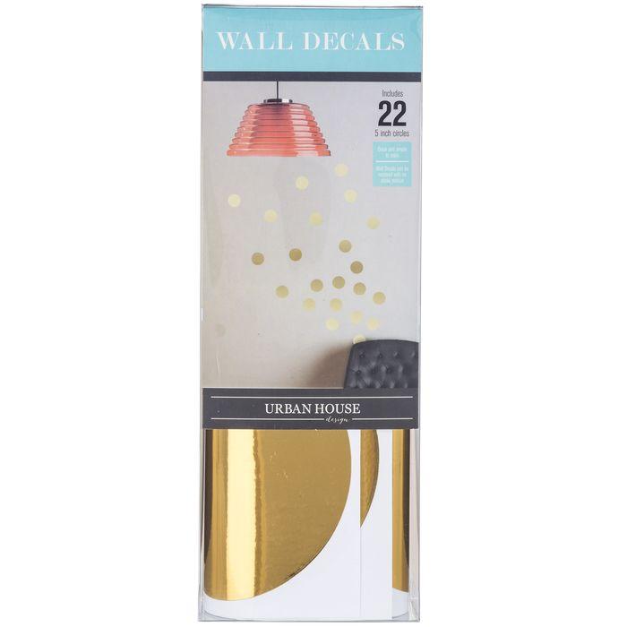 Gold Polka Dot Wall Decals Wall Decals Polka Dot Walls Gold Dot Wall