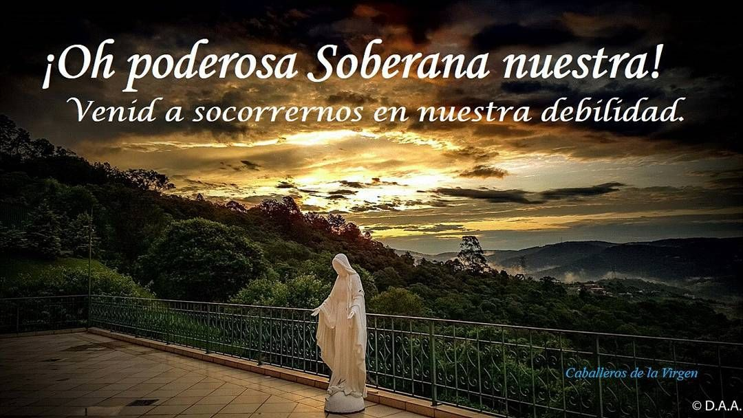 #VirgenMaría