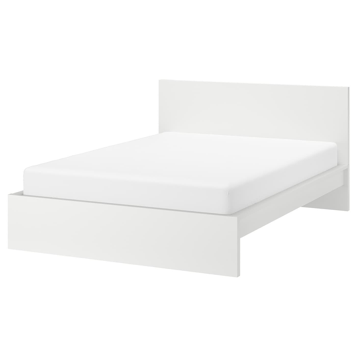Malm Bettgestell Hoch Weiss Ikea Deutschland In 2020 Ikea Malm Bett Bett Lagerung Und Schlafzimmermobel